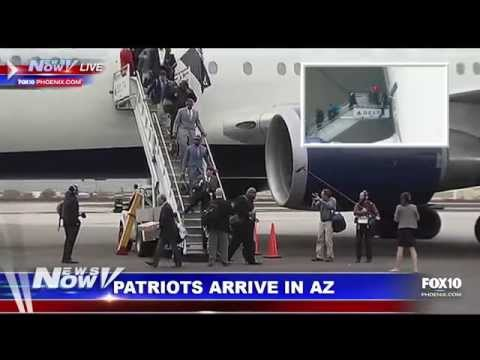 FOX 10 News Now - East Coast Blizzard, AZ Rain, Patriots Arrive in Phoenix for Super Bowl