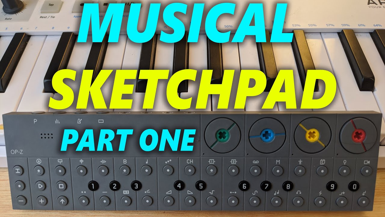 The OP-Z is the Ultimate Musical Sketchpad! (Part 1)