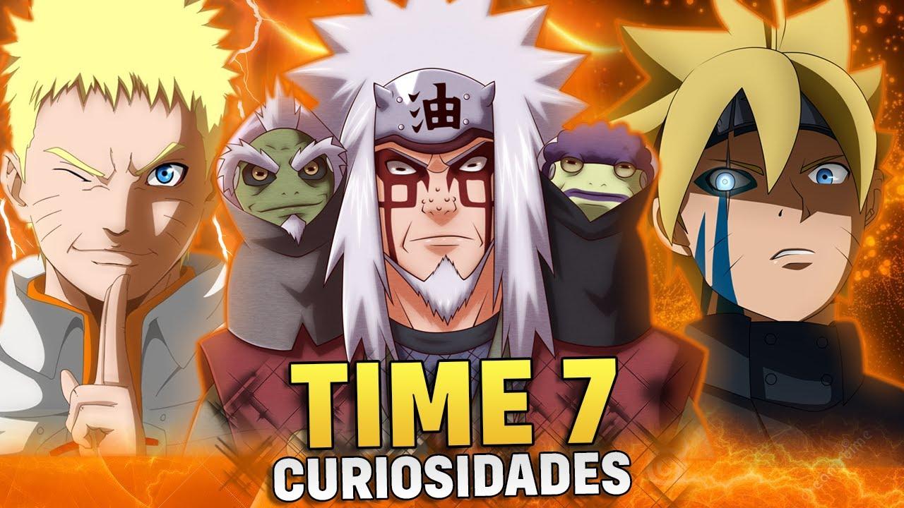 12 CURIOSIDADES SOBRE TODAS AS GERAÇÕES DO TIME 7 (Naruto e Boruto) | Player Solo