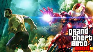 """AVENGERS 2"" GTA MOD! Iron Man Vs. Hulk Gameplay! (GTA IV PC Mods)"