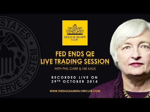 The Gold & Silver Club | Commodities Trading | 122 – FOMC Statement Live Trading Session