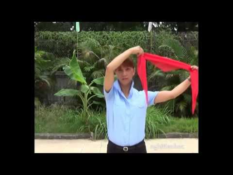 Cách thắt khăn quàng đỏ chuẩn nghi thức đội TNTP