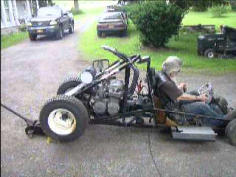 Go Kart With Honda Cb650 Motorcycle Engine Youtube