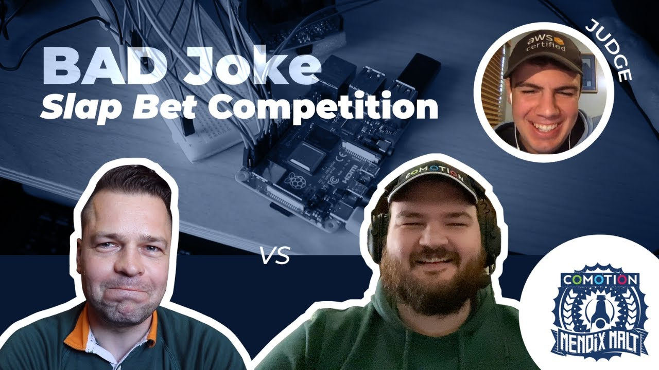 Lockdown problems: Comotion reinvents the bad-joke competition