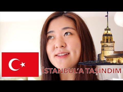 İSTANBUL'A TAŞINDIM