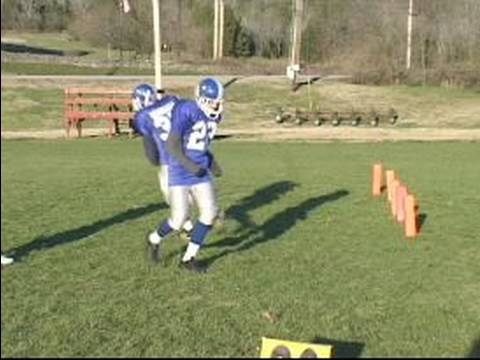 how to play running back in football