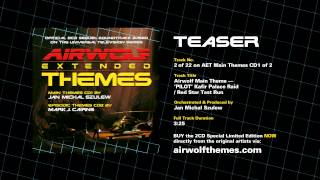 AIRWOLF Extended Themes CD1 Track 2 Teaser - Airwolf Theme PILOT Kafir / Red Star