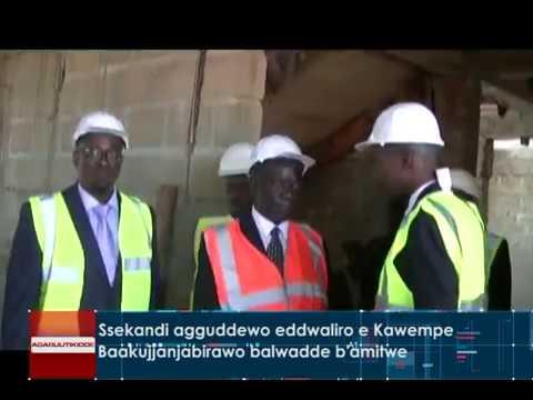 Ssekandi agguddewo eddwaliro e Kawempe