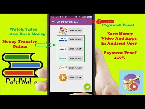 Earn Money Video And Apps Payment Proof In #android