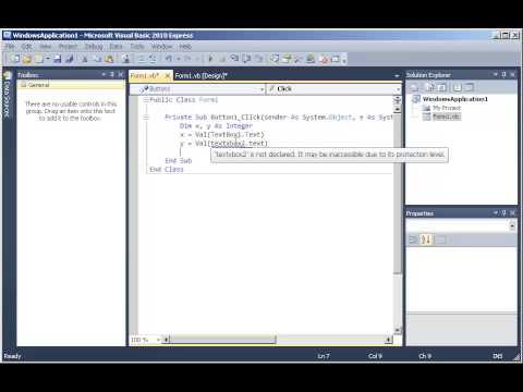 Tutorial 10: Text Changed event in Visual Basic