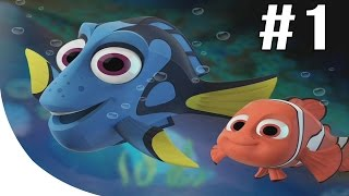 Finding Dory Gameplay Part 1 - Disney Infinity 3.0 Playthrough