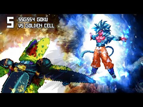 What If Golden Cell Vs Goku Ssgss4 Dialogue Only Youtube