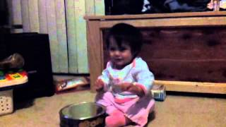 Funny 9 month old Baby Dancing like Shakira cute