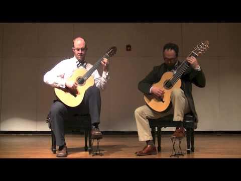 Athens Guitar Duo - Emily's Reel (Mark O'Connor)