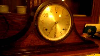 Gilbert 1807 Mantle Clock - Half-hour Chime