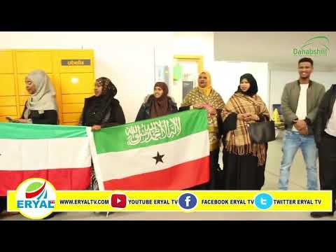 Siyaasi Musharax Maxamuud Xaashi Cabdi Iyo Soo Dhoweynti Birmingham International Airport 28.12.2019