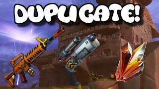 Fortnite With William -NEW FORTNITE SAVE THE WORLD DUPLICATION GLITCH | Duplicate Guns + Materials
