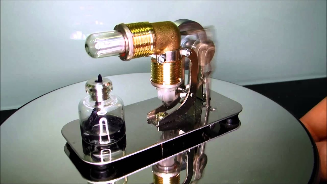 Simple and cheap Chinese Stirling engine