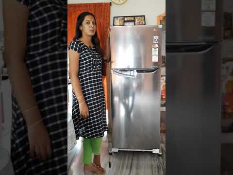 Double door refrigerator review # LG three star refrigerator low cost new models