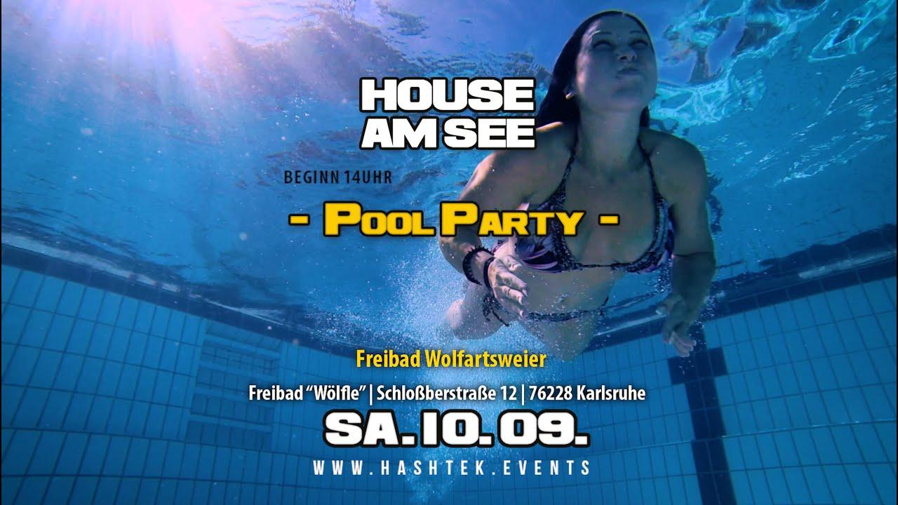 House am see pool party karlsruhe youtube - Pool karlsruhe ...
