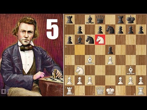 We Have a Fight! || Morphy vs Paulsen (1857) || 1st American Chess Congress