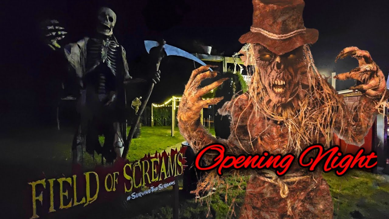 Download FIELD OF SCREAMS Haunted Attraction Mountville Pa (2021 Opening Night)