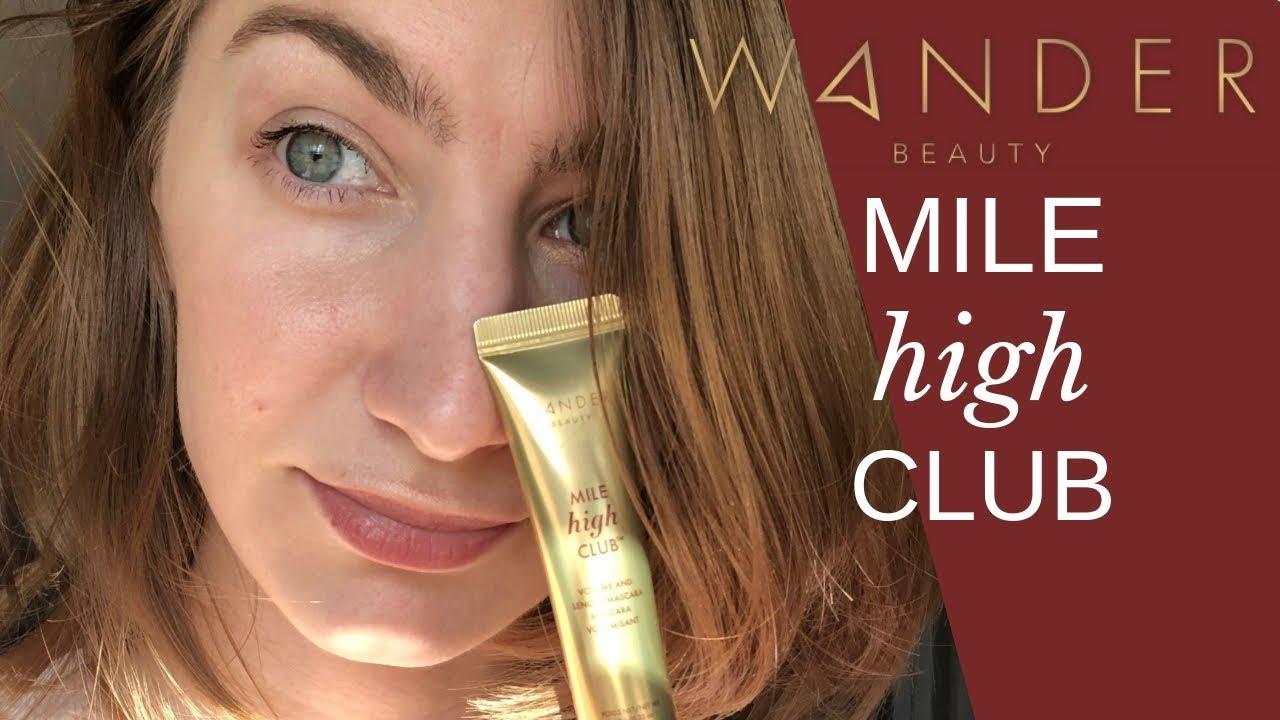 e7f4f4c6630 NEW WANDER BEAUTY Mile High Club Mascara Review - YouTube