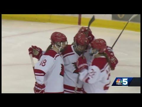 Plattsburgh St. women's hockey picks up fifth straight shutout