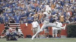 Tennessee Vs. Florida Hype Video ||City On My Back||