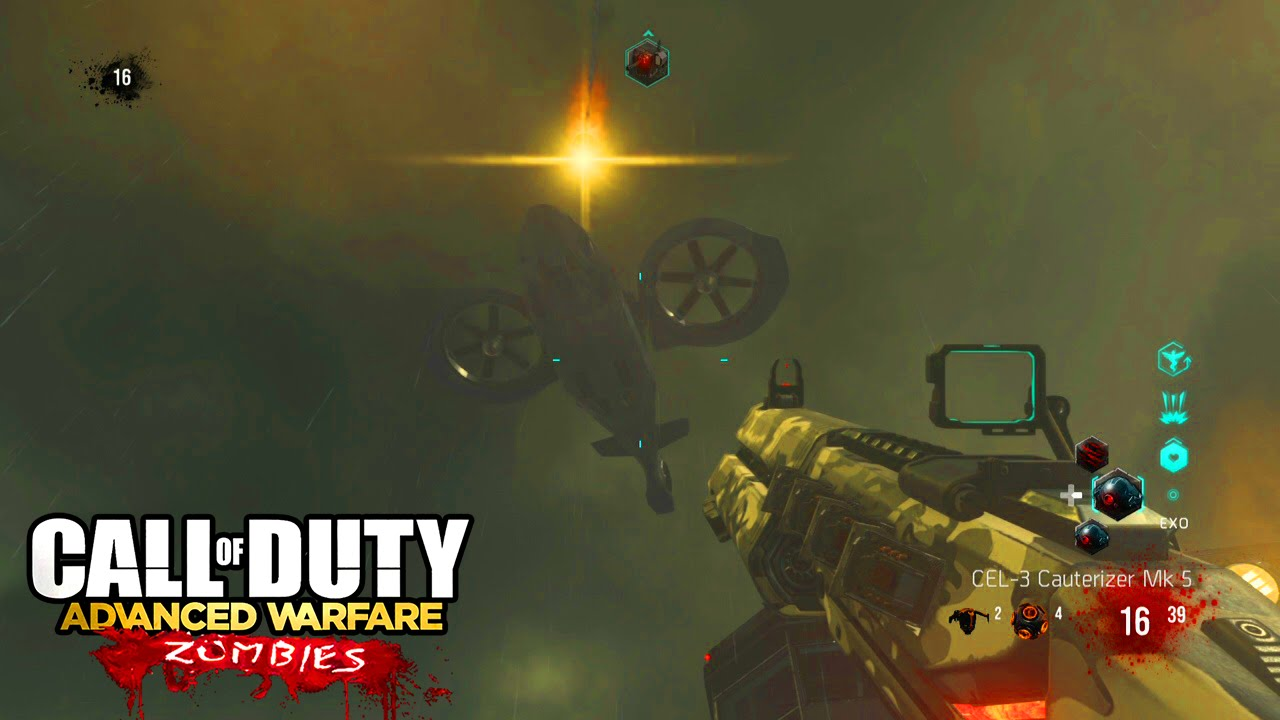 Advanced Warfare: Exo Zombies - Game Over, Man Outbreak