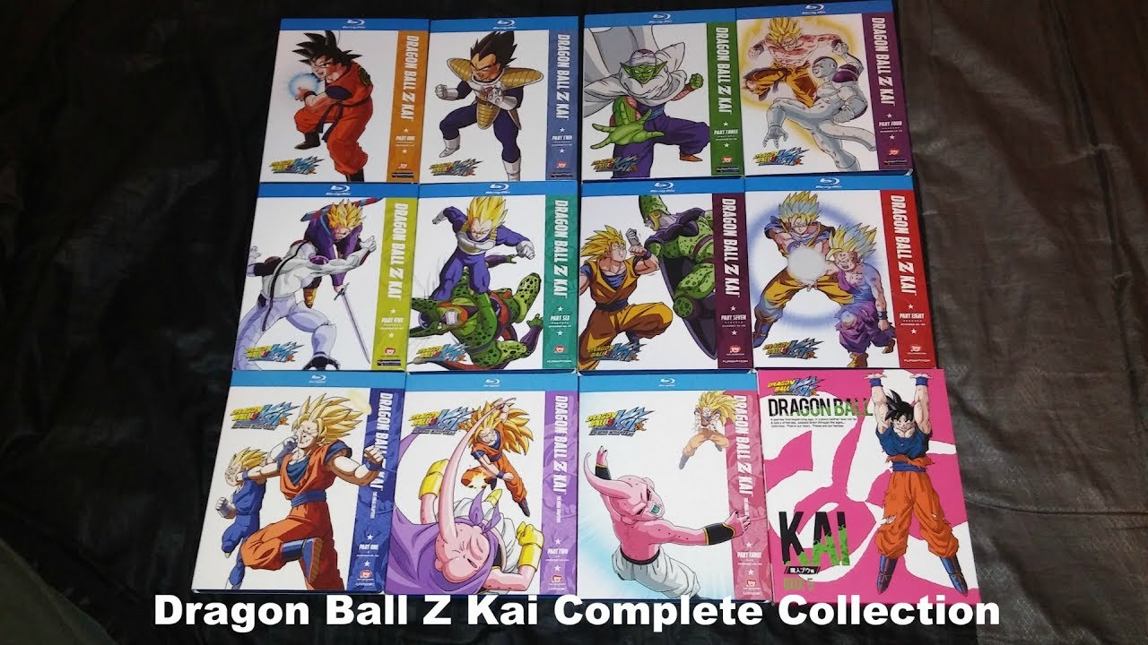 My Complete Dragon Ball Z Kai Collection