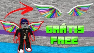 HOW to WIN COLORFUL WING FOR FREE AT ROBLOX-RAINBOW WINGS (Imagination 2018) FREE