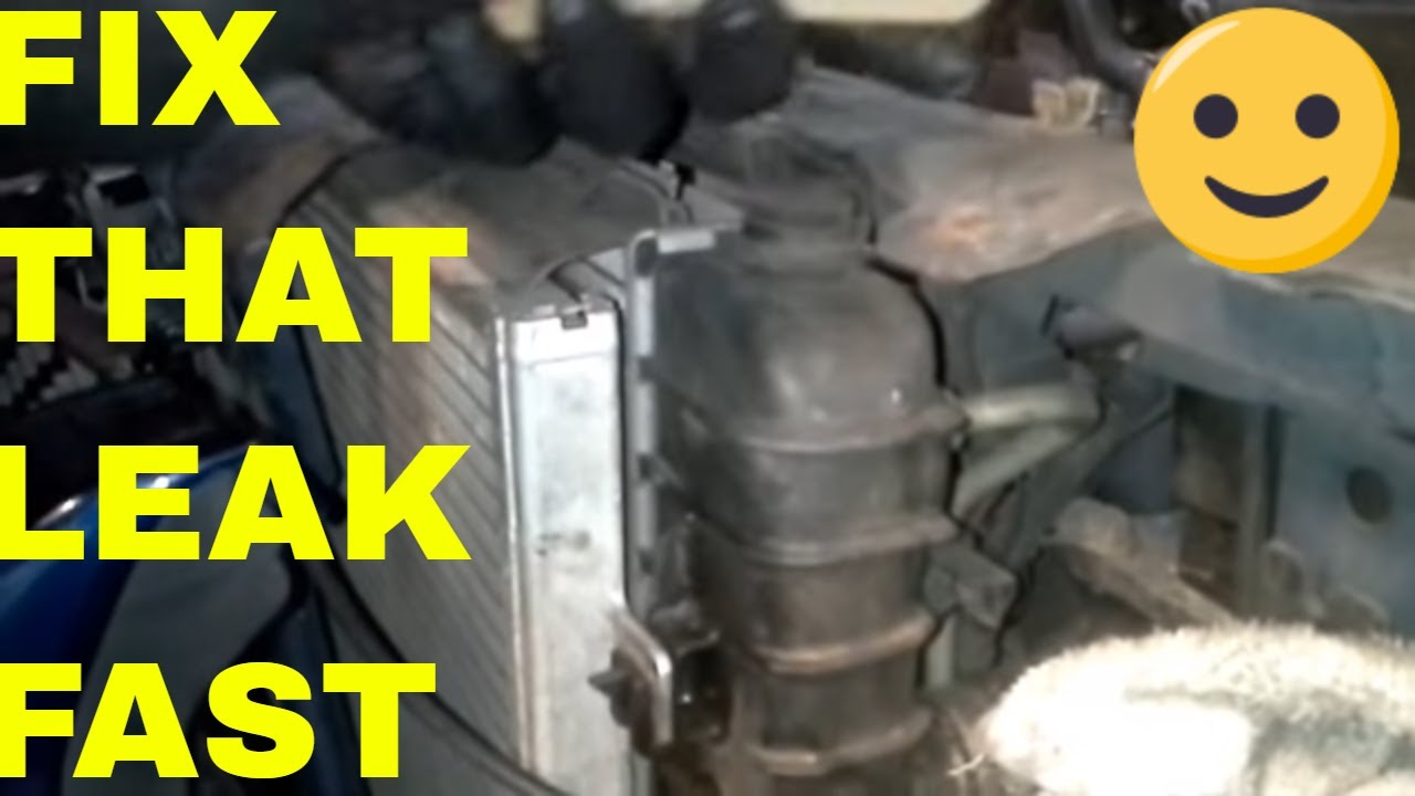 Ford 3 8 V6 Engine Diagram Lines How To Repair A Radiator Leak With Epoxy Youtube