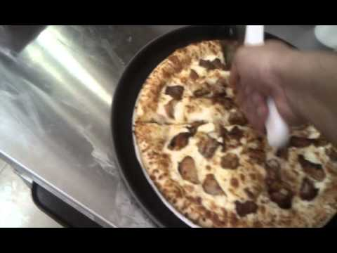 Halal pizza at iqra grocery