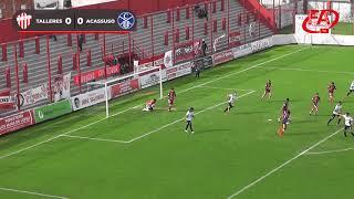FATV 19/20 Fecha 10 - Torneo Apertura - Talleres 0 - Acassuso 0