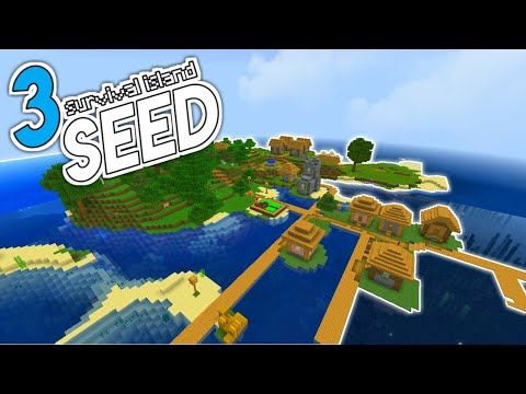 3 Seed Survival Island Terbaik Minecraft PE! (Recommended)