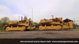 Caterpillar twin D9 bulldozer 770 horsepower (DD9G/Quad-Trac)