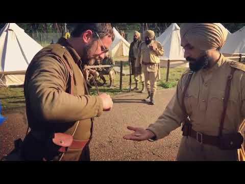 Diljit Dosanjh   Behind the scene  worldwar1