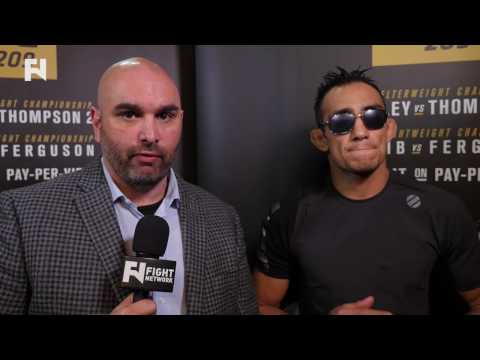 UFC 209: Tony Ferguson Speaks on Khabib Nurmagomedov Bout Cancellation - Full Interview