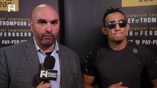 UFC 209: Tony Ferguson Speaks on Khabib Nurmagomedov Bout Cancellation - Full Interview