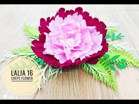 Lalia 16 crepe DIY Crepe Paper flower backdrop