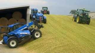 Kukurydza 2013-kiszonka na podlasiu! 3xClaas, 5xNew Holland, 4xJohn Deere. Maize Silage! FULL HD!