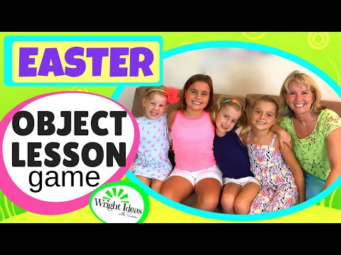 EASTER EGG HUNT & OBJECT LESSON *sensitive Version* Resurrection Eggs