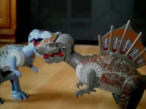 Lego t rex vs spino youtube - Lego dinosaurs spinosaurus ...