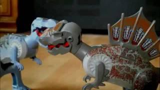 Lego - T. Rex vs Spino