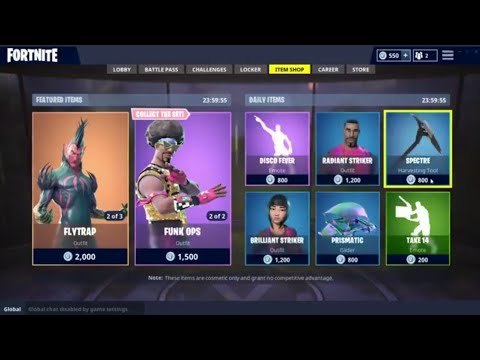 Fortnite Item Shop 17 July - 18 July 2018 / Boutique Fortnite Du 17 Juillet - 18 Juillet  2018