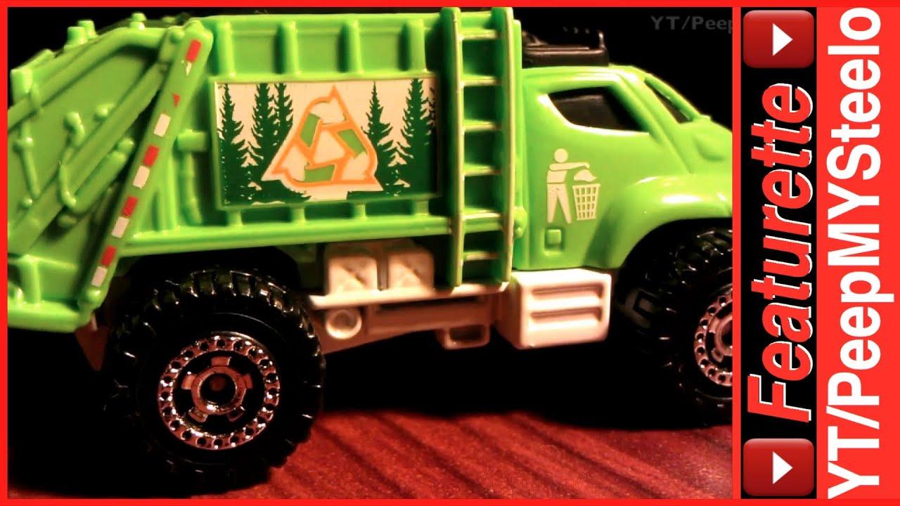 Matchbox Garbage Truck Waste Management