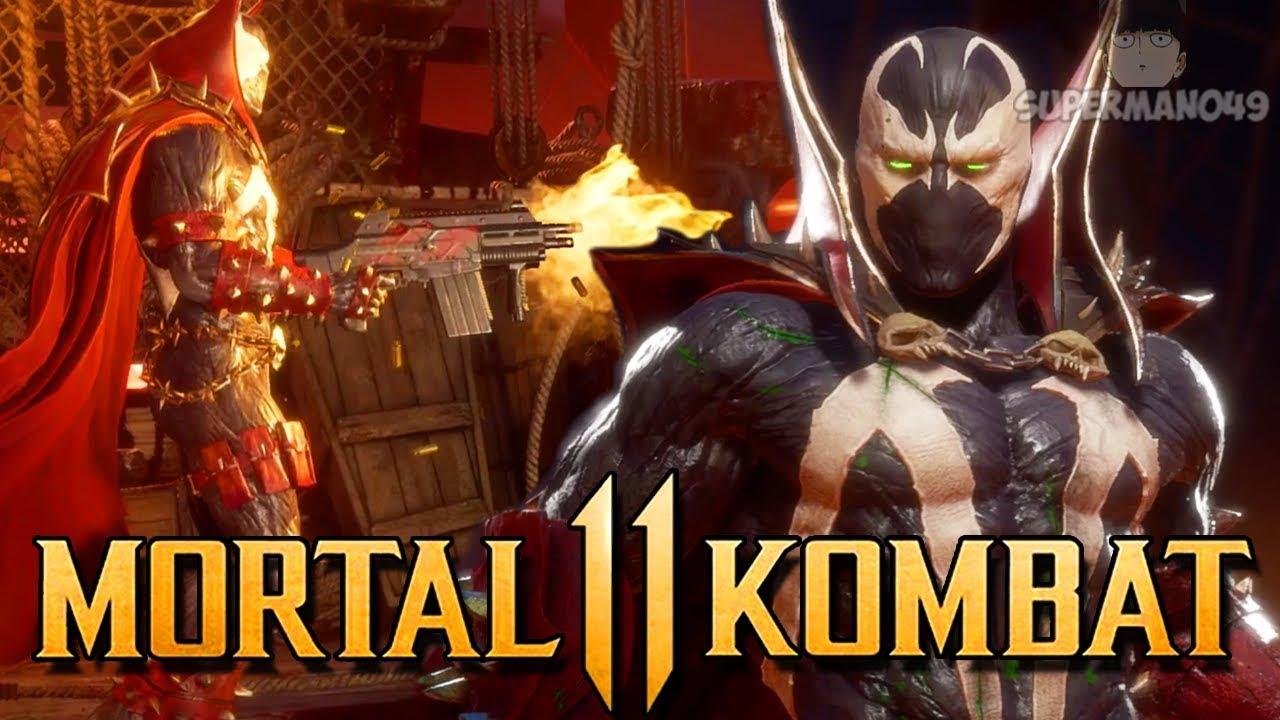 "SPAWN Going Rambo Mode Is AMAZING! - Mortal Kombat 11: ""Spawn"" Gameplay"