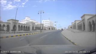 Driving through Muttrah - Muscat, Oman
