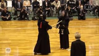 14th All Japan Invitational 8-dan Kendo Championships — Final